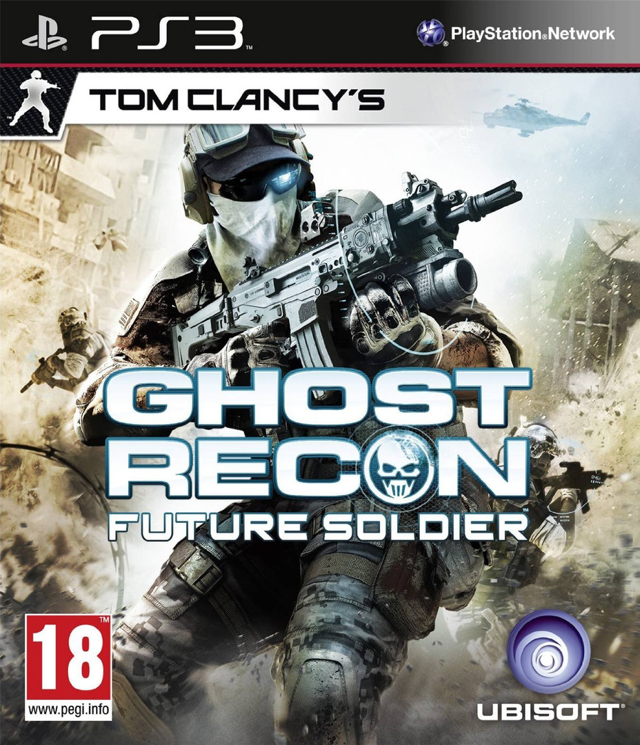 Tom Clancy's Ghost Recon: Future Soldier PS3 coverHQ (BLES00922)