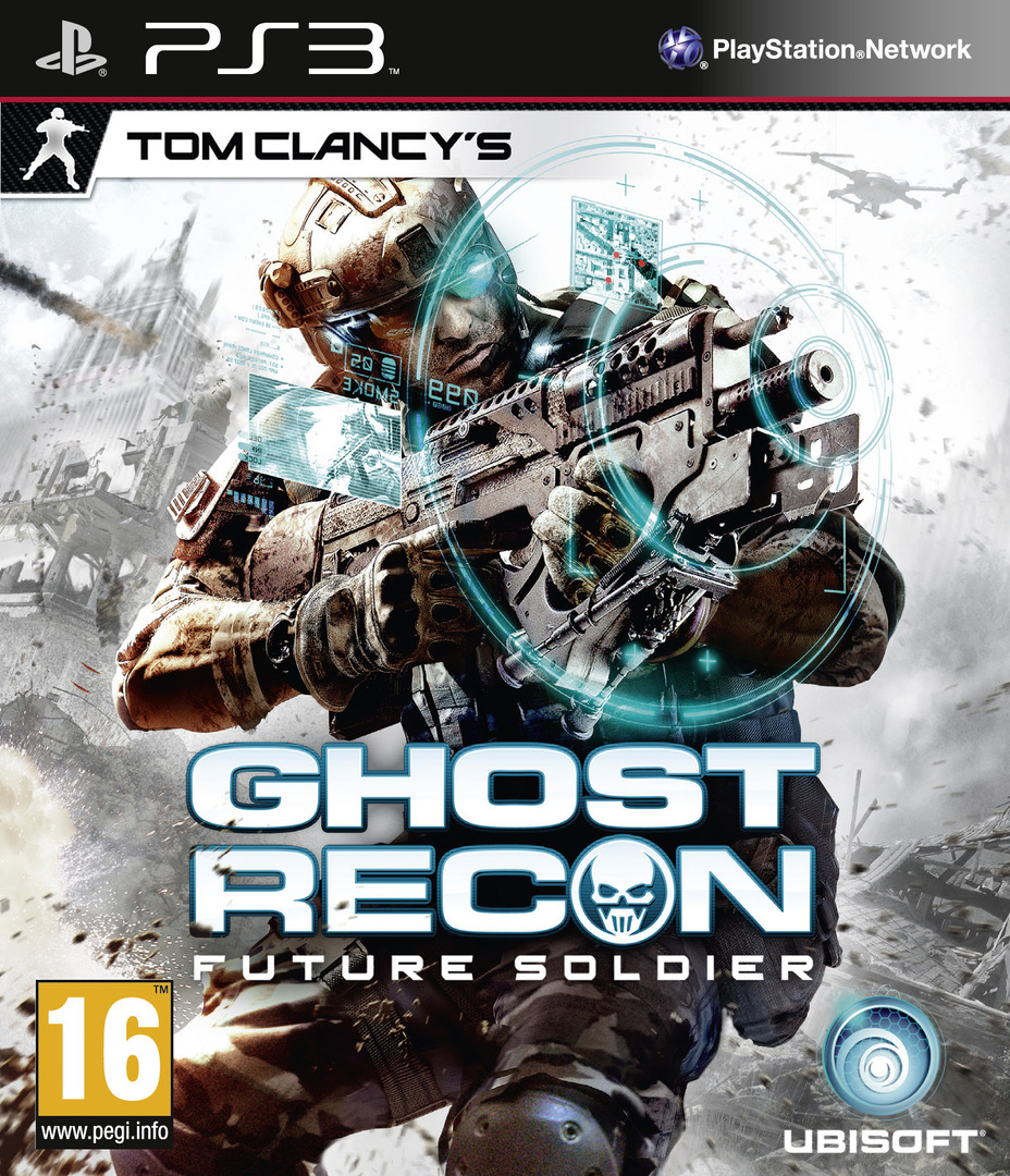 Tom Clancy's Ghost Recon: Future Soldier PS3 coverHQ (BLES00924)