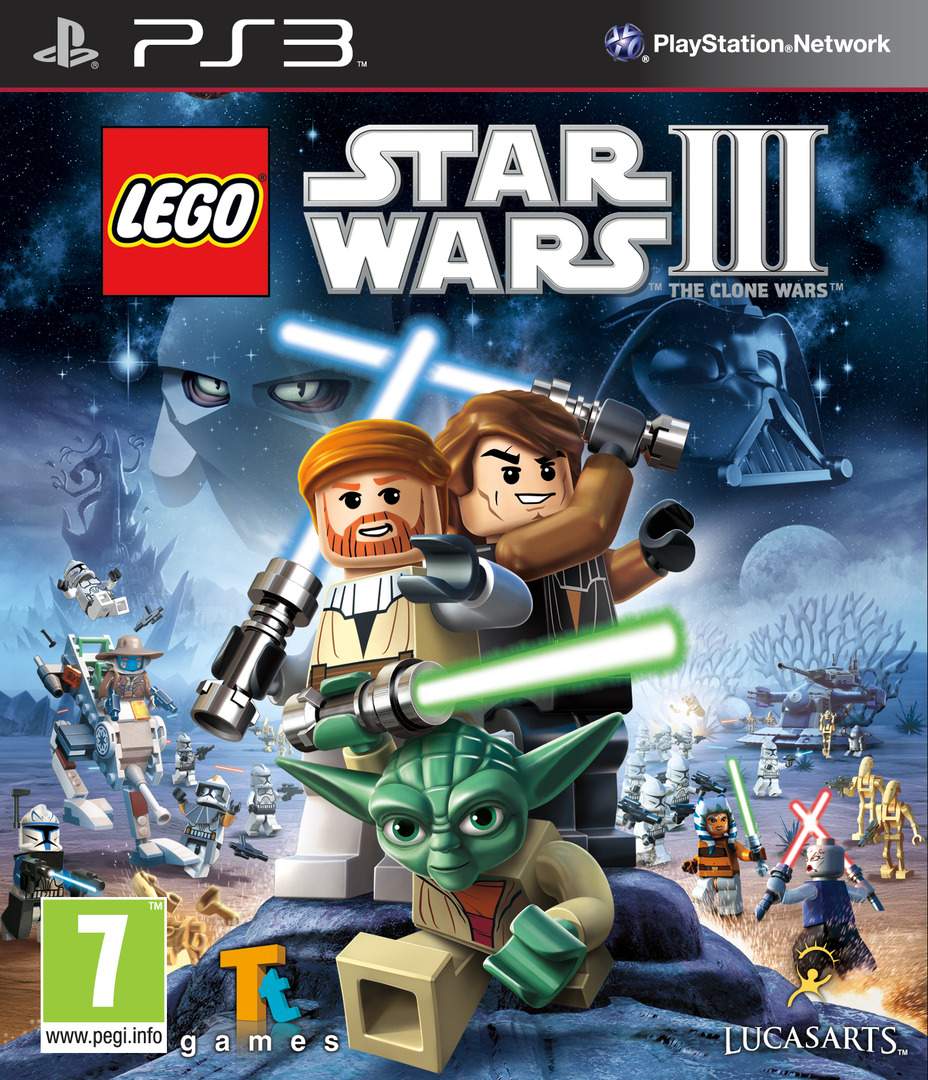 LEGO Star Wars III: The Clone Wars PS3 coverHQ (BLES00934)