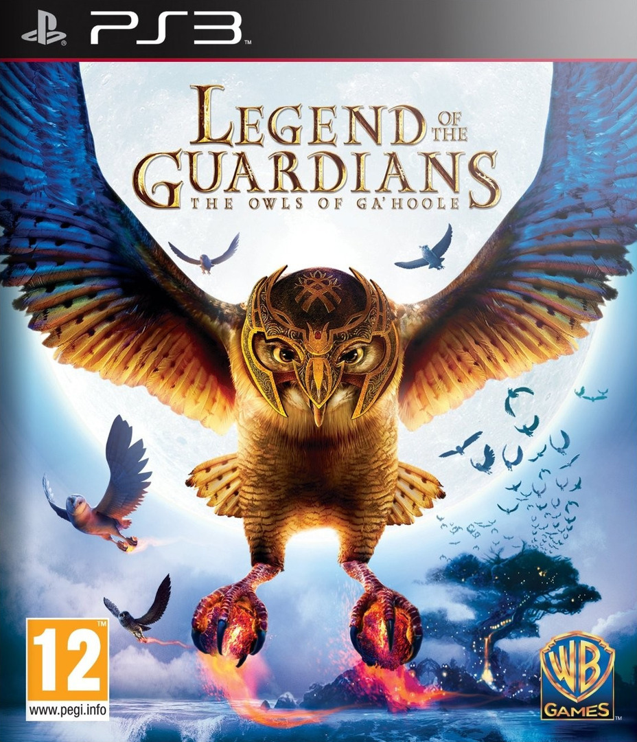 Legend of the Guardians: The Owls of Ga'Hoole PS3 coverHQ (BLES00964)