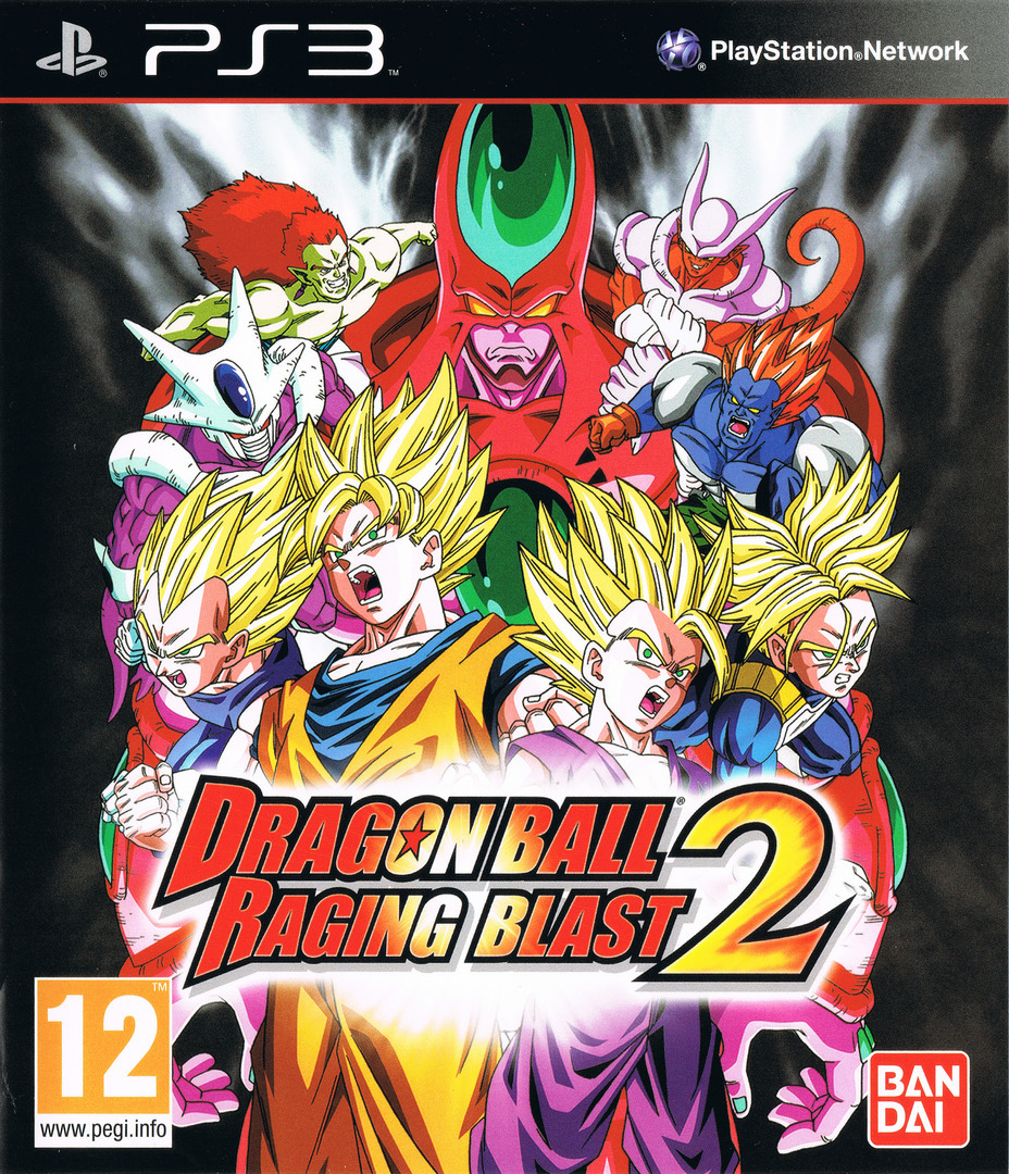 Dragon Ball: Raging Blast 2 PS3 coverHQ (BLES00978)