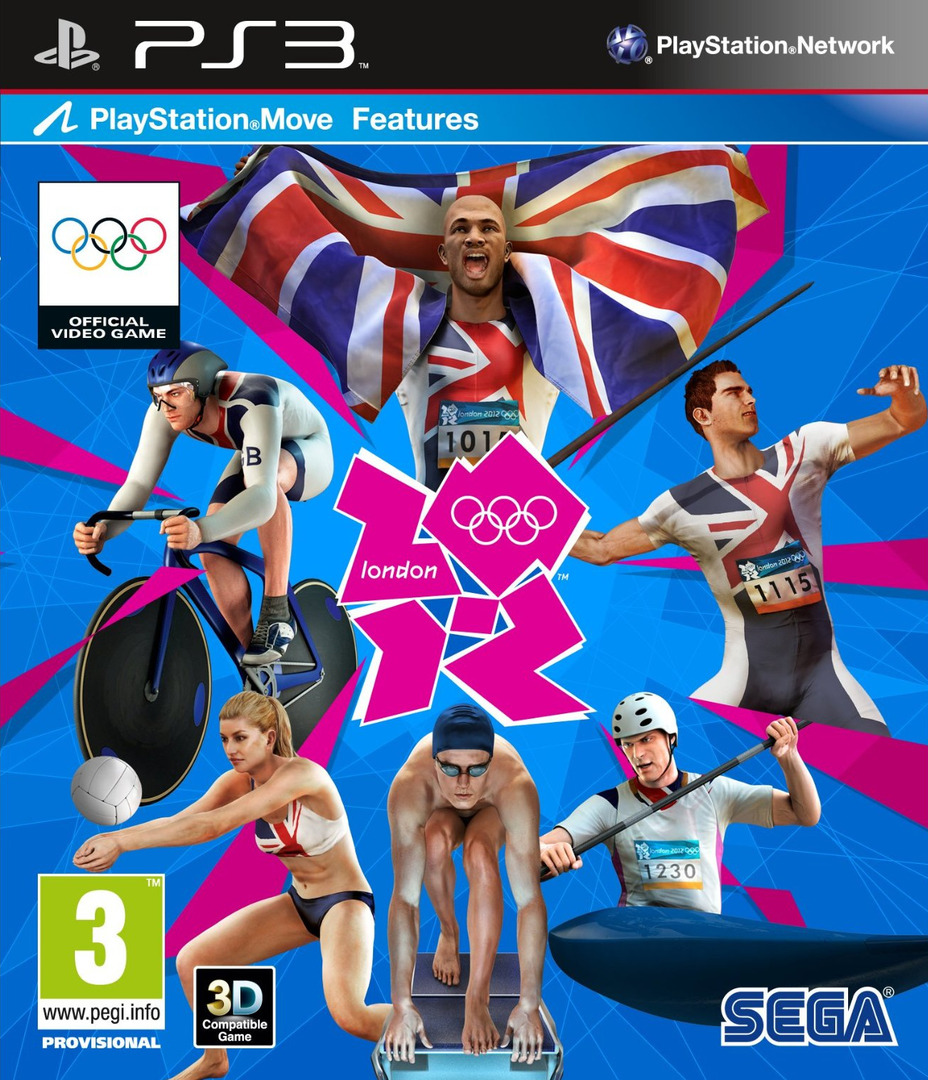 London 2012: The Official Video Game of the Olympic Games PS3 coverHQ (BLES01074)