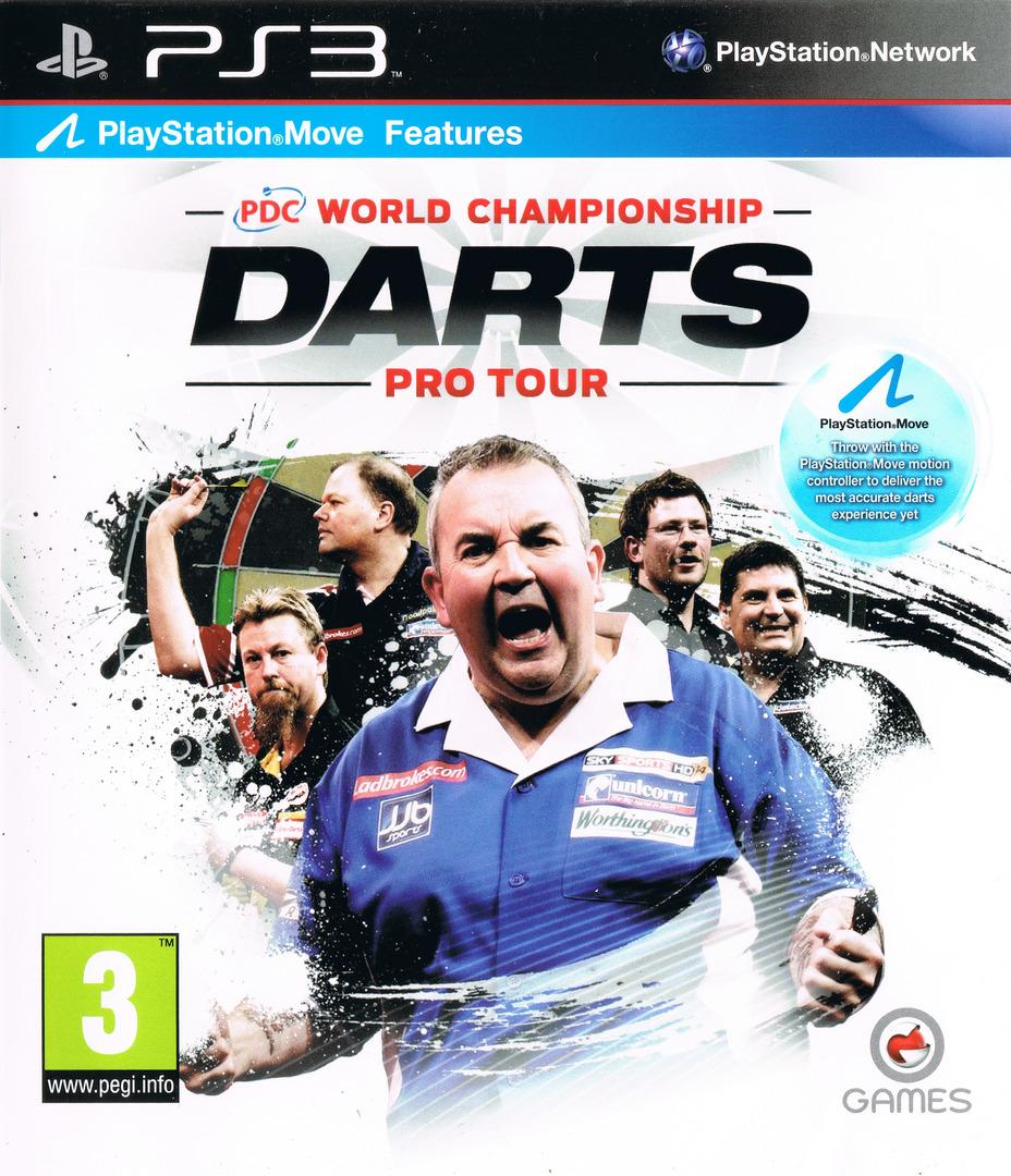 PDC World Championship Darts: Pro Tour PS3 coverHQ (BLES01090)