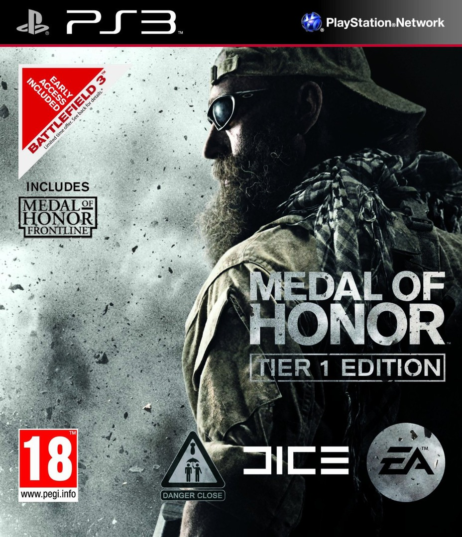 Medal of Honor: Tier 1 Edition PS3 coverHQ (BLES01106)