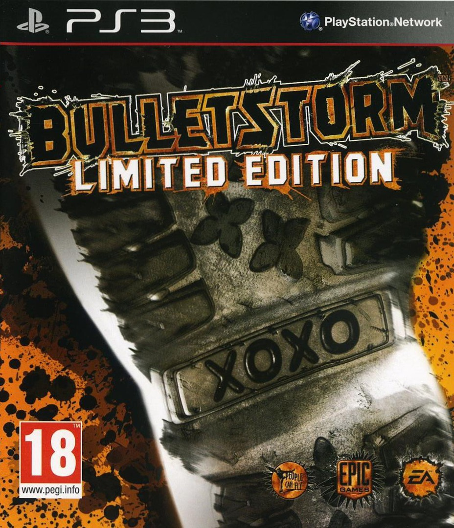 Bulletstorm (Limited Edition) PS3 coverHQ (BLES01134)