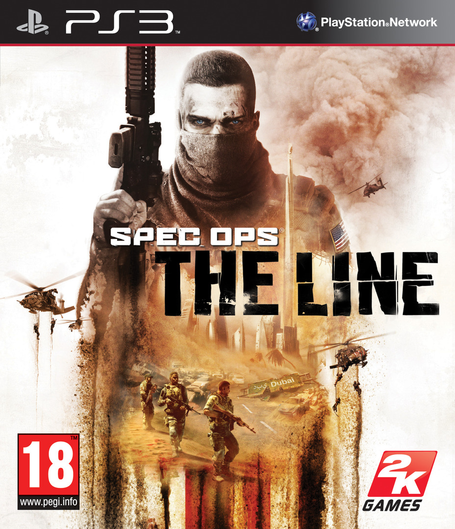 Spec Ops: The Line PS3 coverHQ (BLES01157)