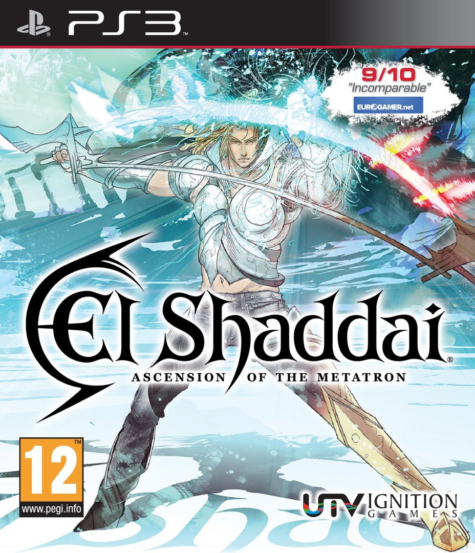 El Shaddai: Ascension of the Metatron PS3 coverHQ (BLES01163)