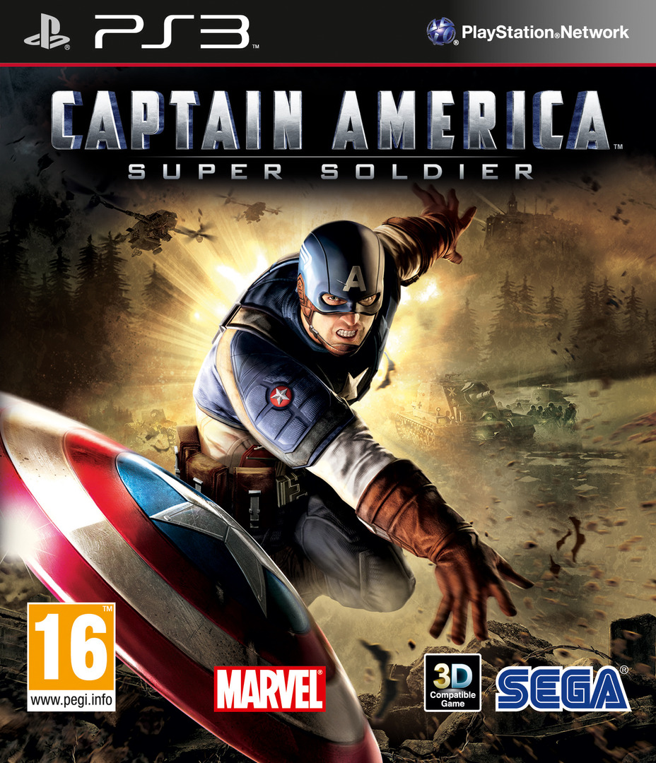 Captain America : Super Soldier PS3 coverHQ (BLES01167)