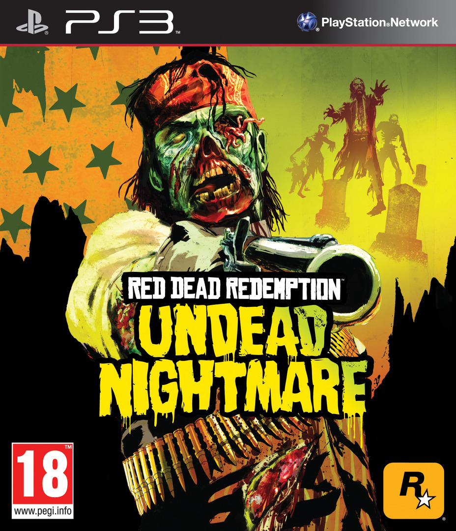 Red Dead Redemption: Undead Nightmare PS3 coverHQ (BLES01179)