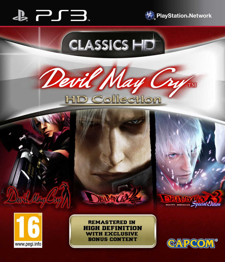 Devil May Cry: HD Collection PS3 coverHQ (BLES01228)