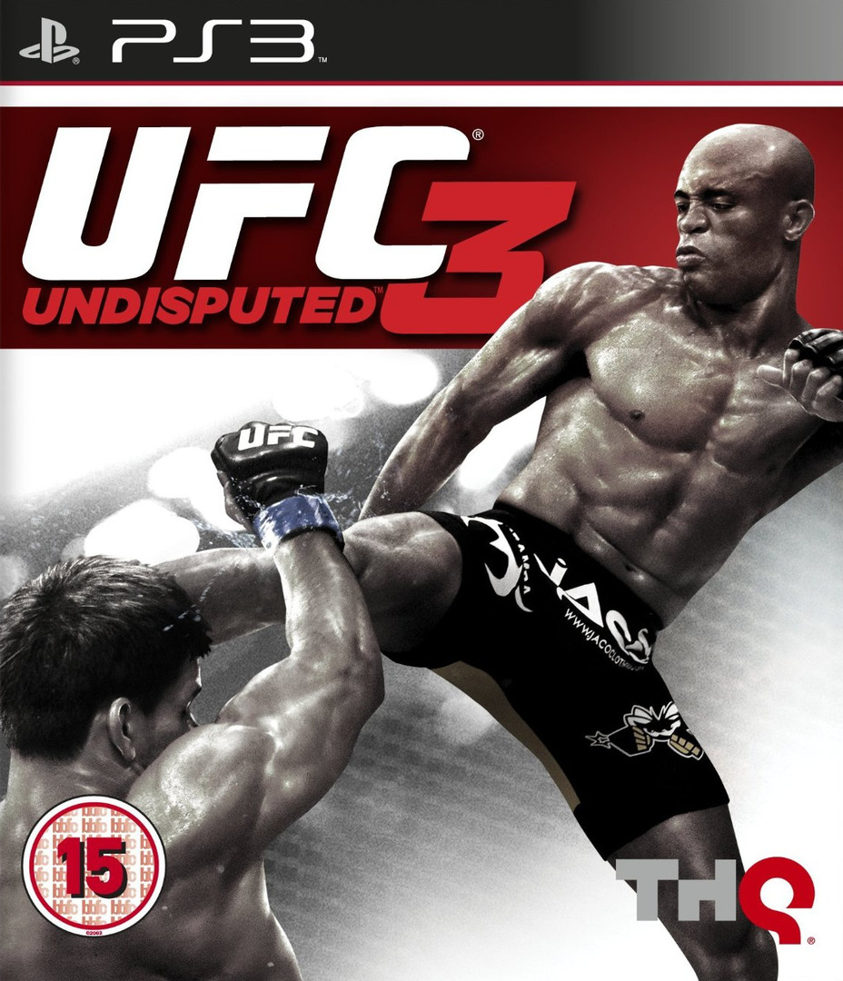 UFC: Undisputed 3 PS3 coverHQ (BLES01231)