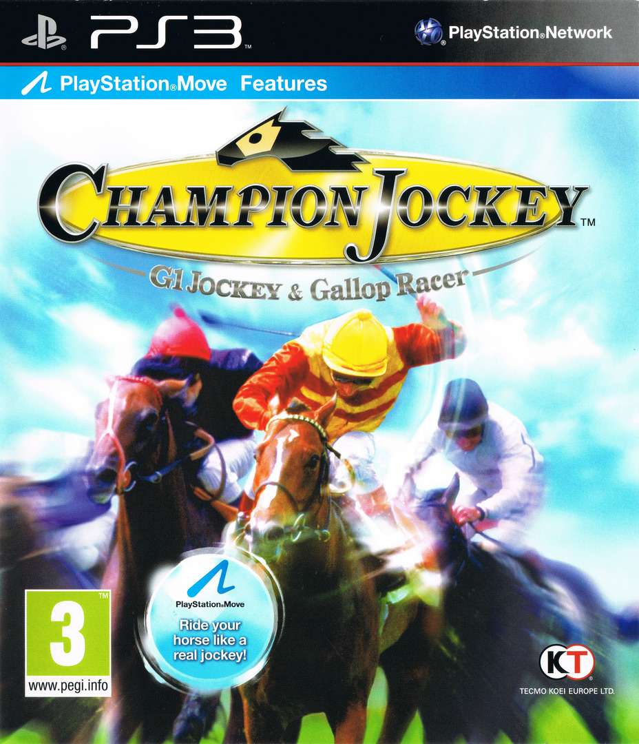 Champion Jockey: G1 Jockey & Gallop Racer PS3 coverHQ (BLES01235)