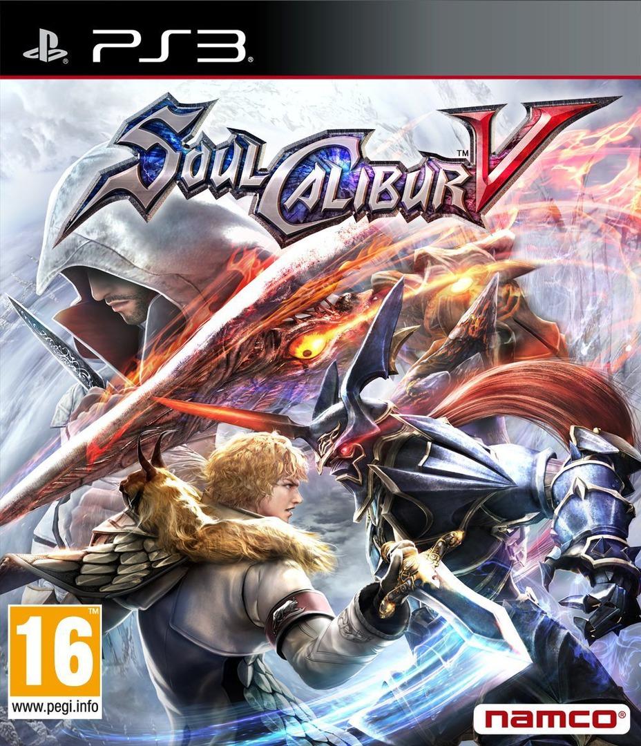 SoulCalibur V PS3 coverHQ (BLES01250)