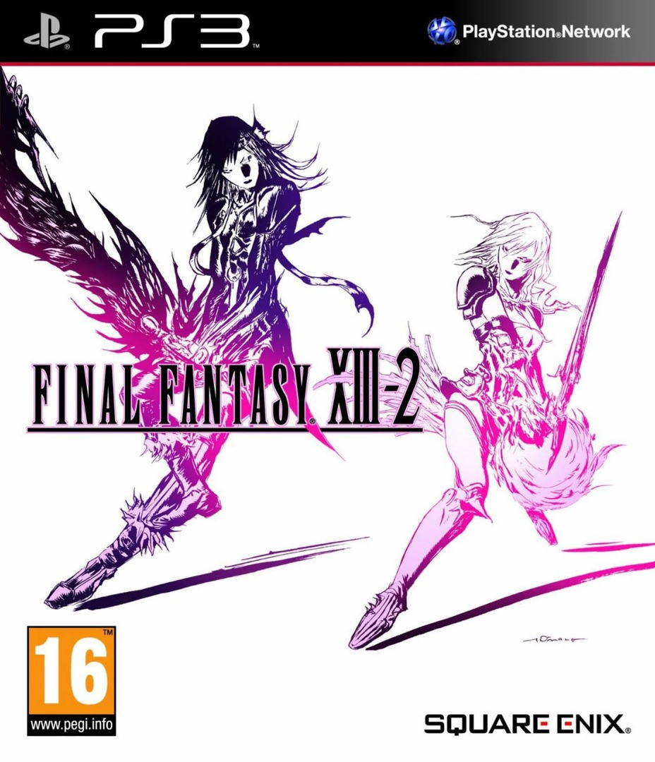 Final Fantasy XIII-2 Array coverHQ (BLES01269)