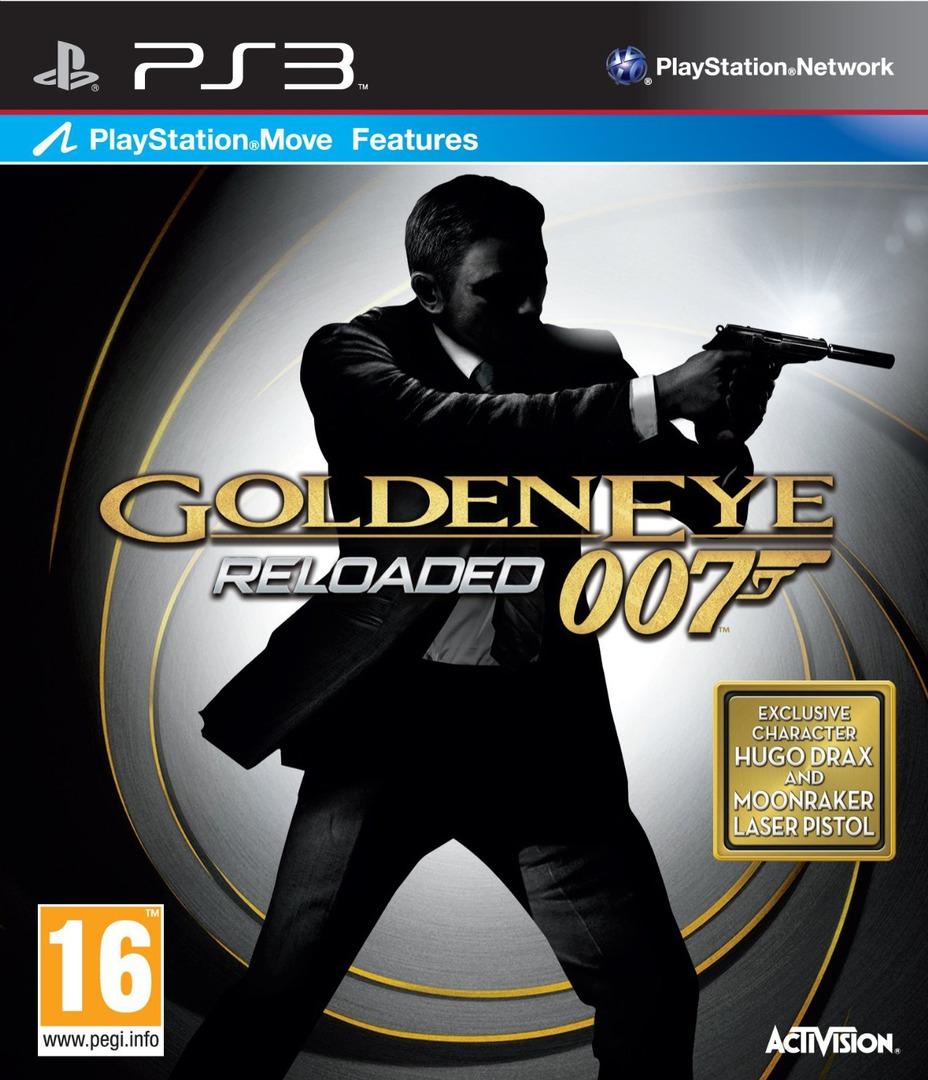 Golden Eye 007: Reloaded PS3 coverHQ (BLES01292)