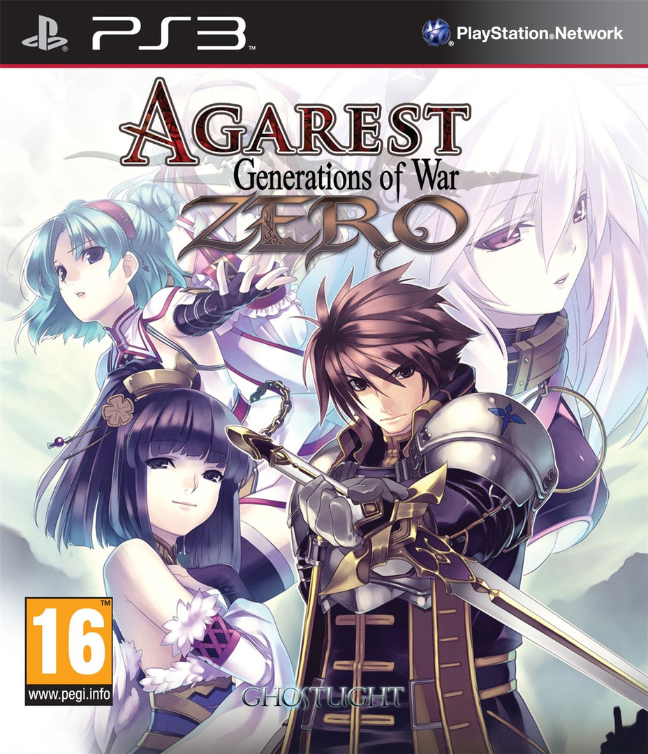 Agarest: Generations of War Zero PS3 coverHQ (BLES01305)