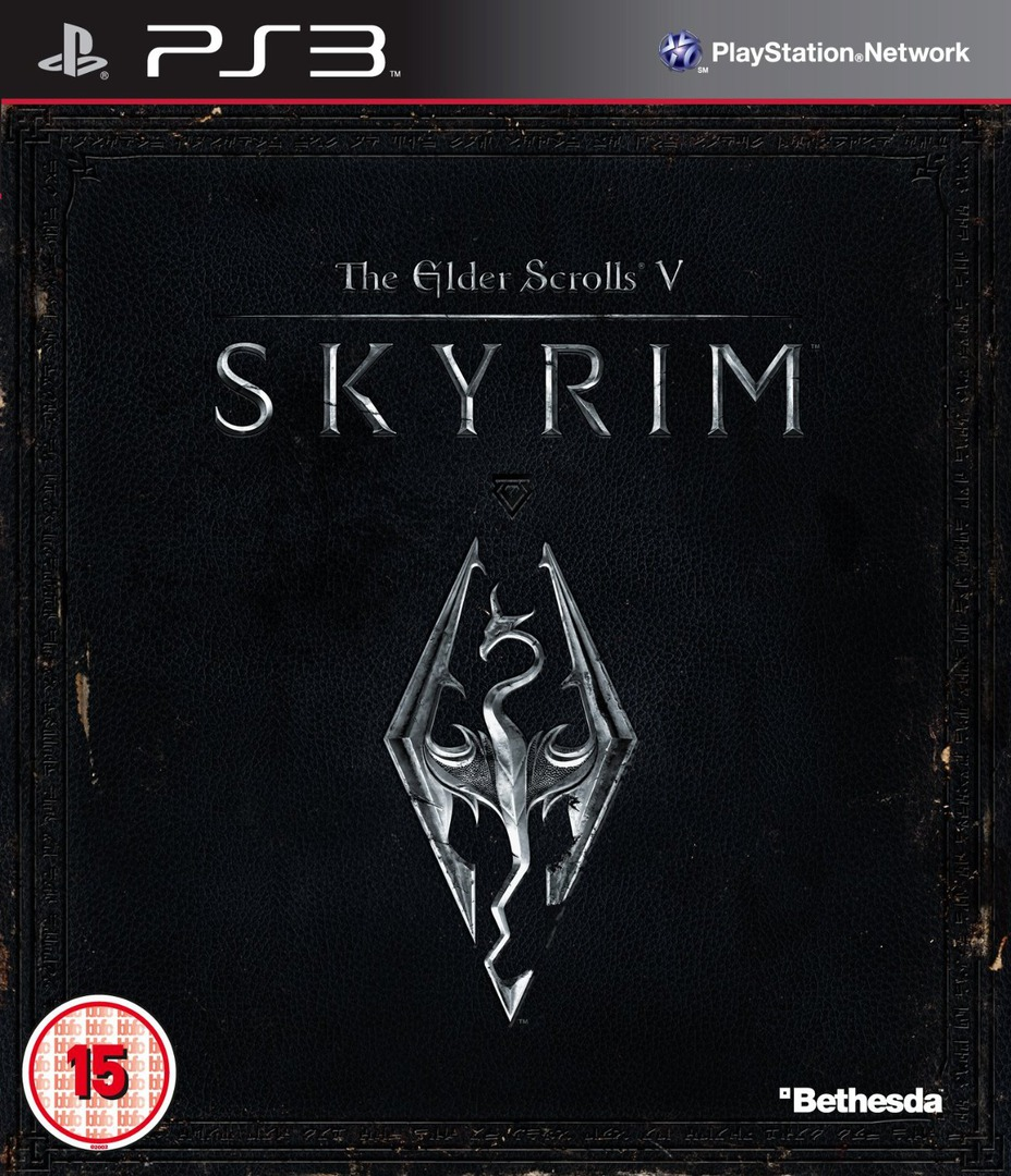 The Elder Scrolls V: Skyrim PS3 coverHQ (BLES01330)