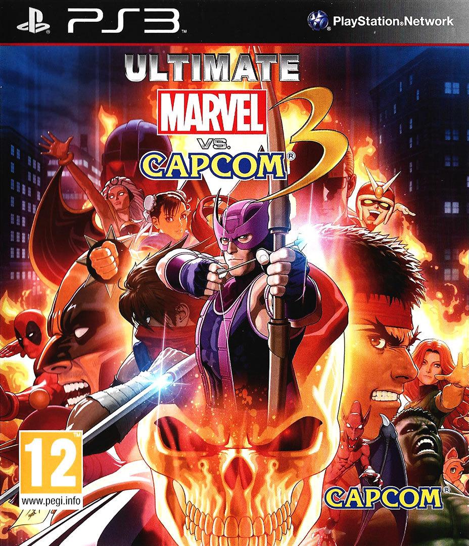 Ultimate Marvel vs Capcom 3 PS3 coverHQ (BLES01355)