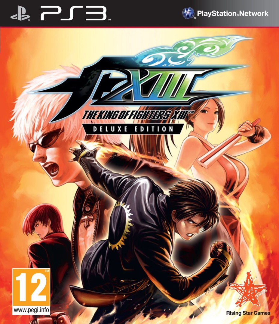 The King of Fighters XIII PS3 coverHQ (BLES01409)