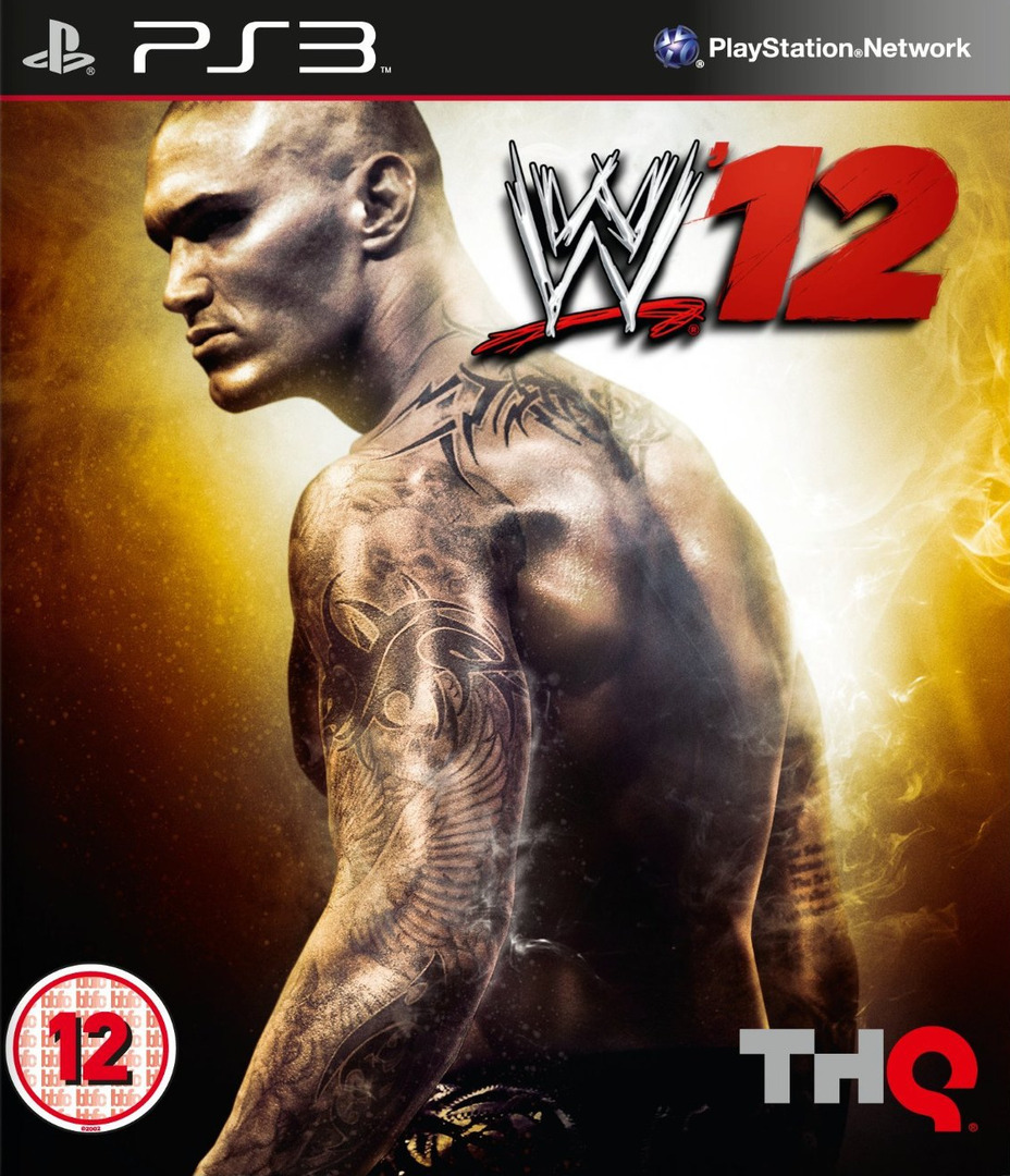 WWE 12 Array coverHQ (BLES01439)