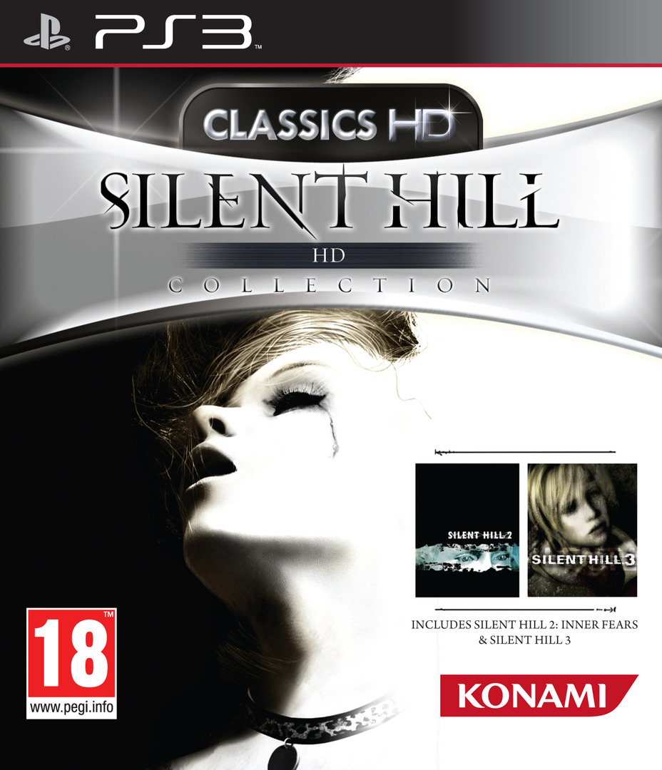Silent Hill: HD Collection PS3 coverHQ (BLES01504)