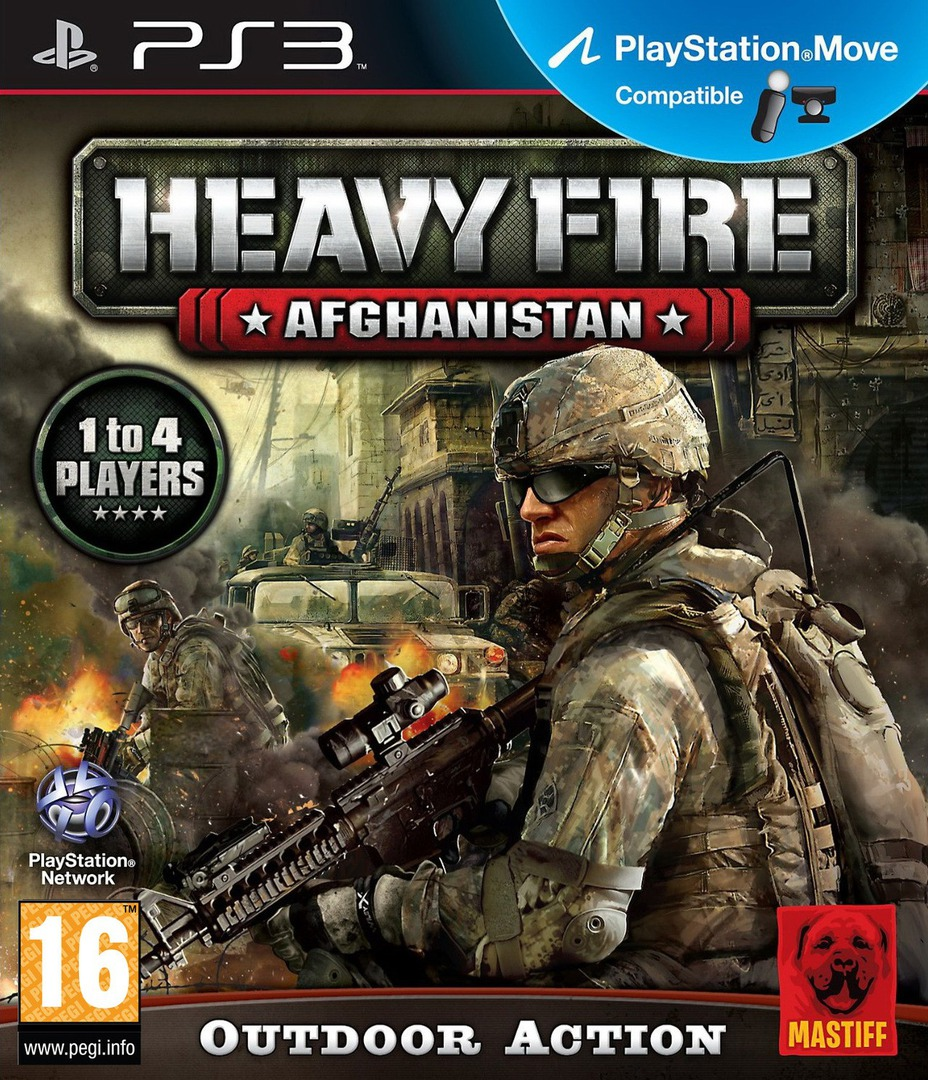 Heavy Fire: Afghanistan PS3 coverHQ (BLES01602)