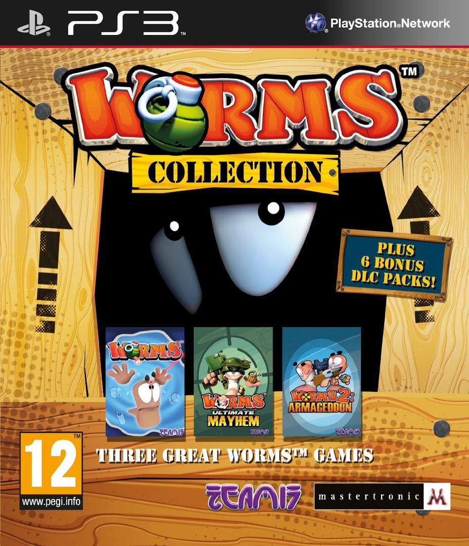 Worms Collection PS3 coverHQ (BLES01610)