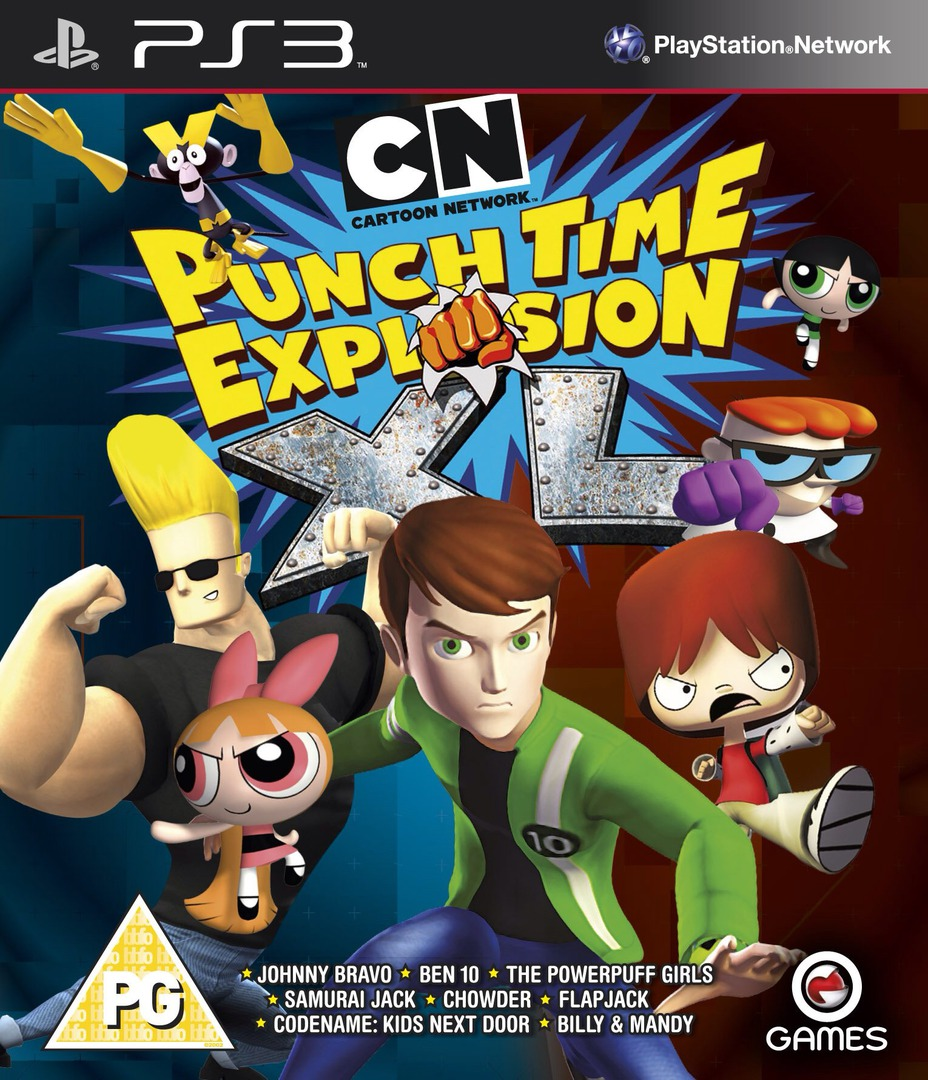 Cartoon Network: Punch Time Explosion XL PS3 coverHQ (BLES01622)