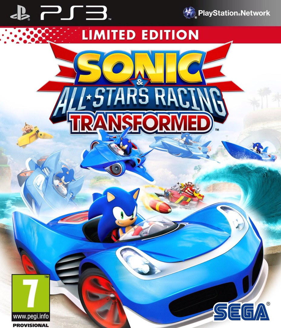 Sonic & All-Stars Racing Transformed PS3 coverHQ (BLES01646)
