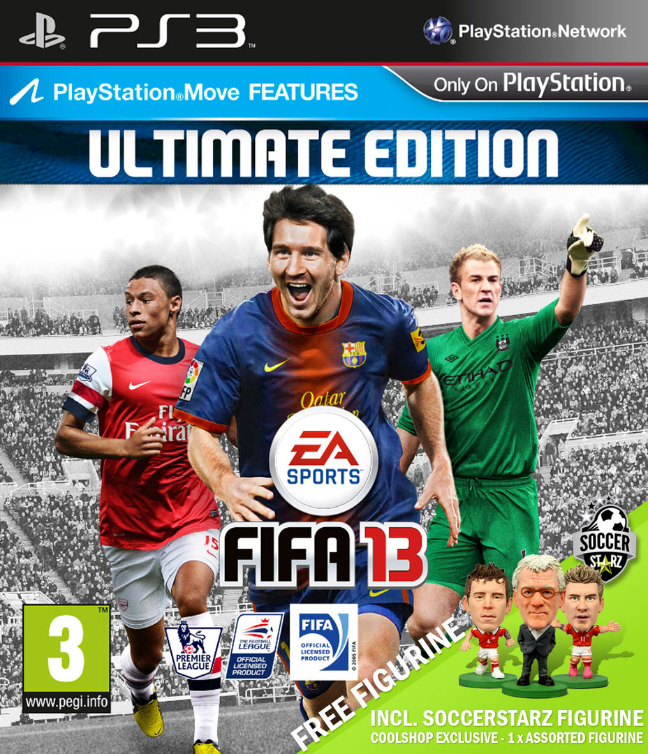 FIFA 13: Ultimate Edition PS3 coverHQ (BLES01676)