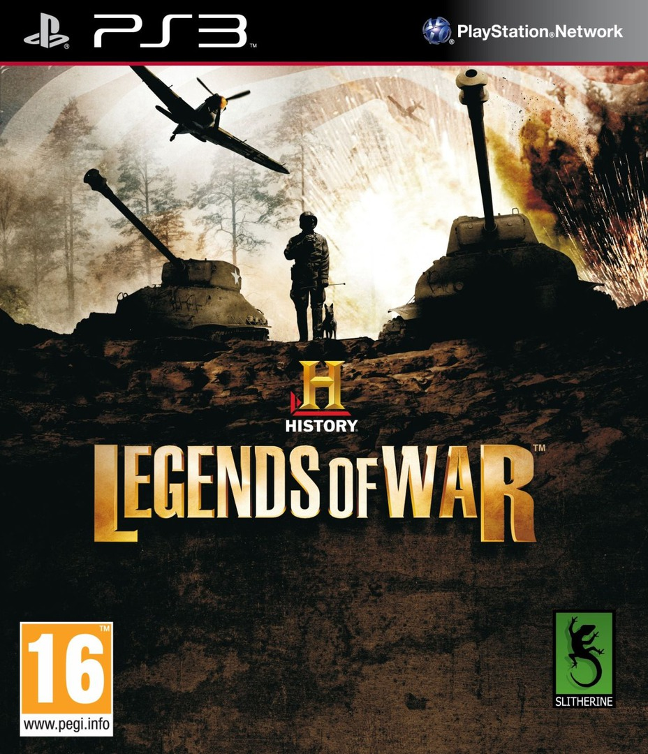 History: Legends of War PS3 coverHQ (BLES01744)