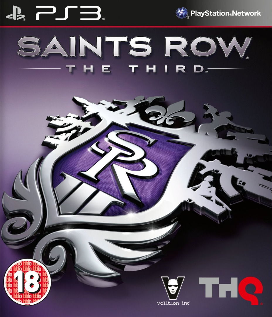 Saints Row : The Third PS3 coverHQ (BLES01748)