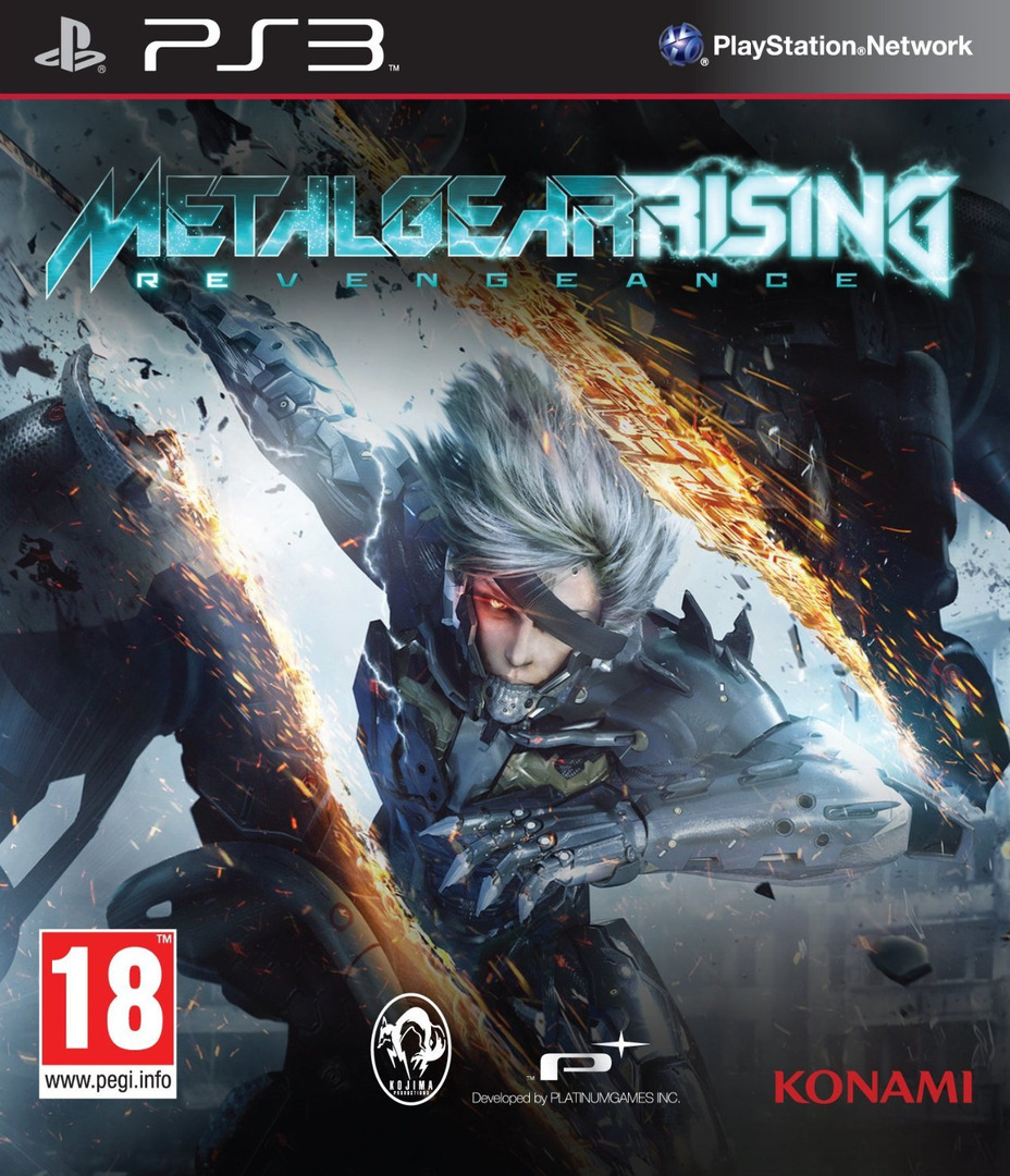 Metal Gear Rising: Revengeance PS3 coverHQ (BLES01750)