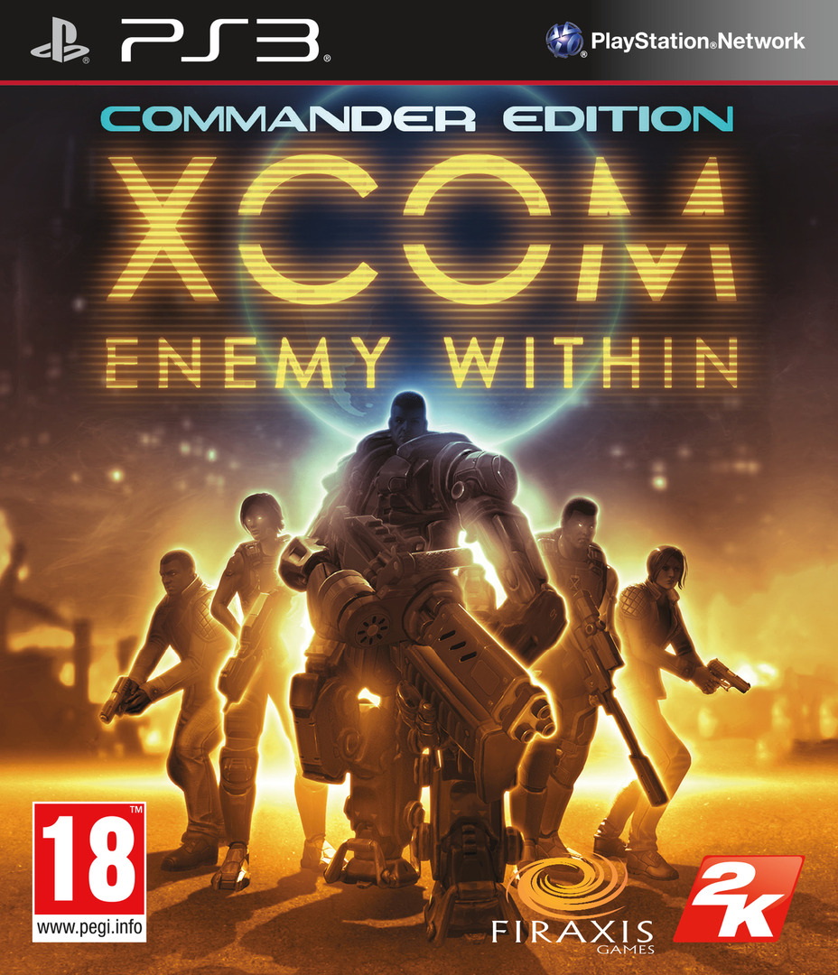 XCOM: Enemy Within - Commander Edition PS3 coverHQ (BLES01851)