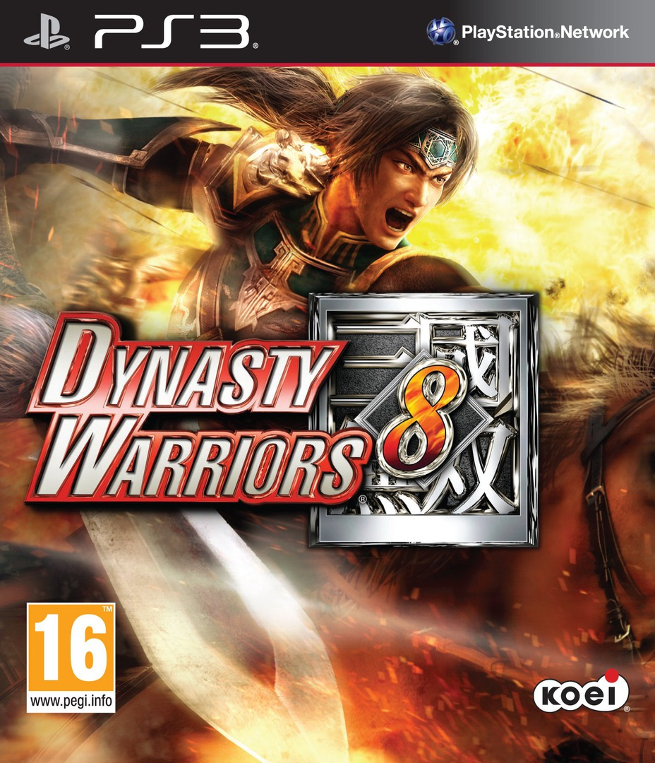 Dynasty Warriors 8 PS3 coverHQ (BLES01865)