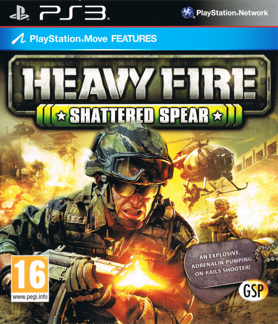 Heavy Fire: Shattered Spear PS3 coverHQ (BLES01869)