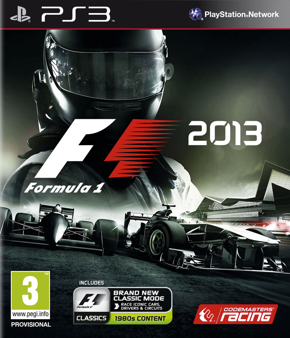 F1 2013 Classic Edition PS3 coverHQ (BLES01870)