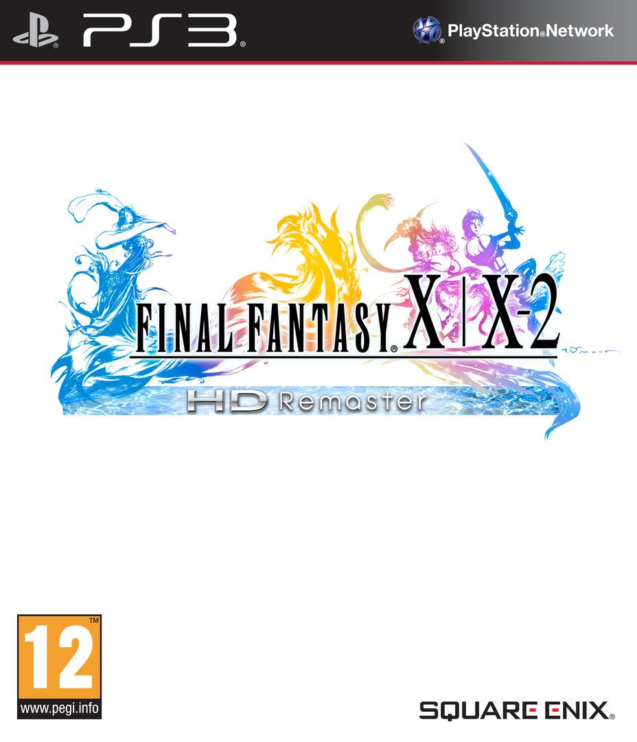 Final Fantasy X / X-2 HD Remaster PS3 coverHQ (BLES01880)