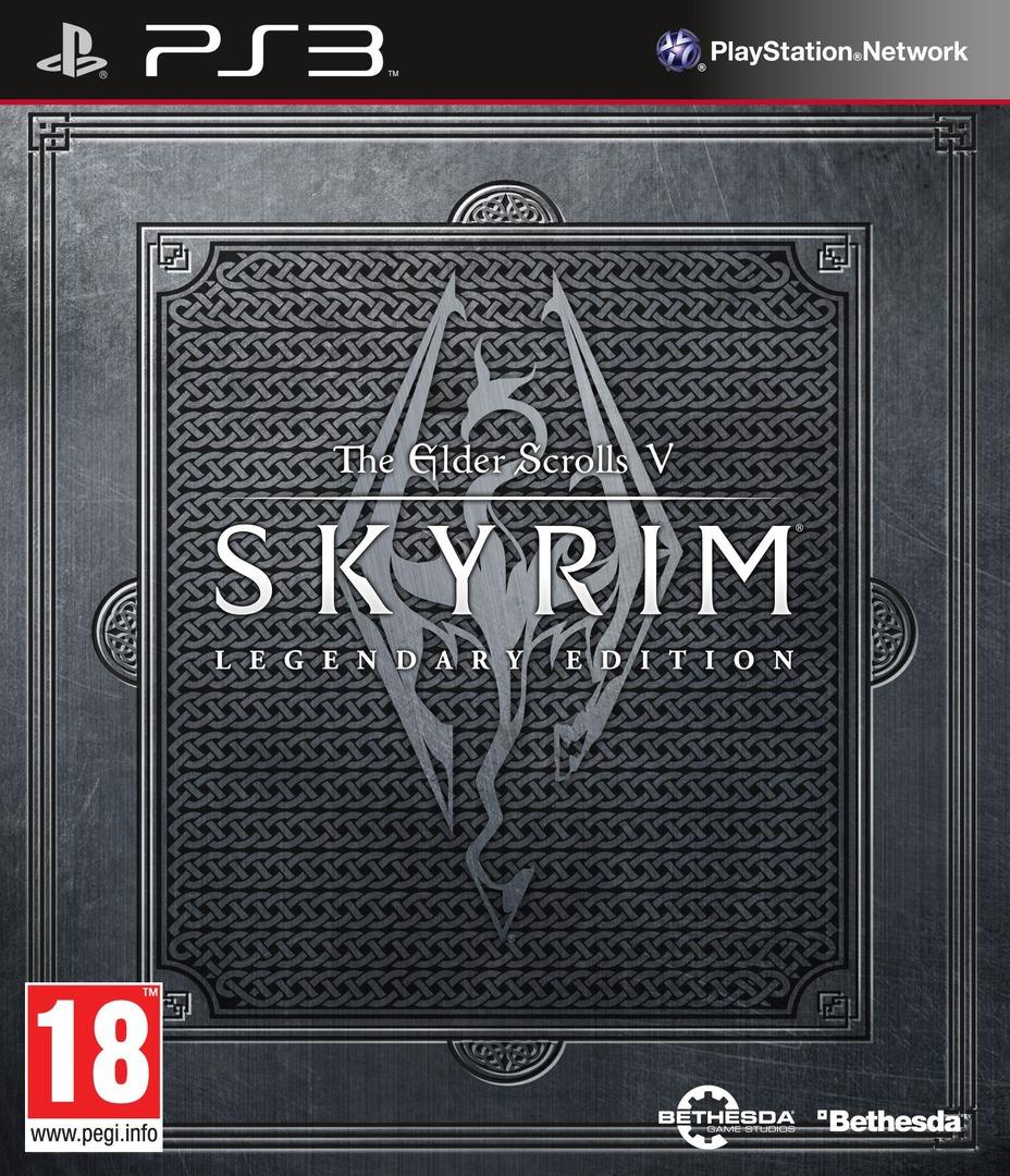 The Elder Scrolls V: Skyrim Legendary Edition PS3 coverHQ (BLES01886)