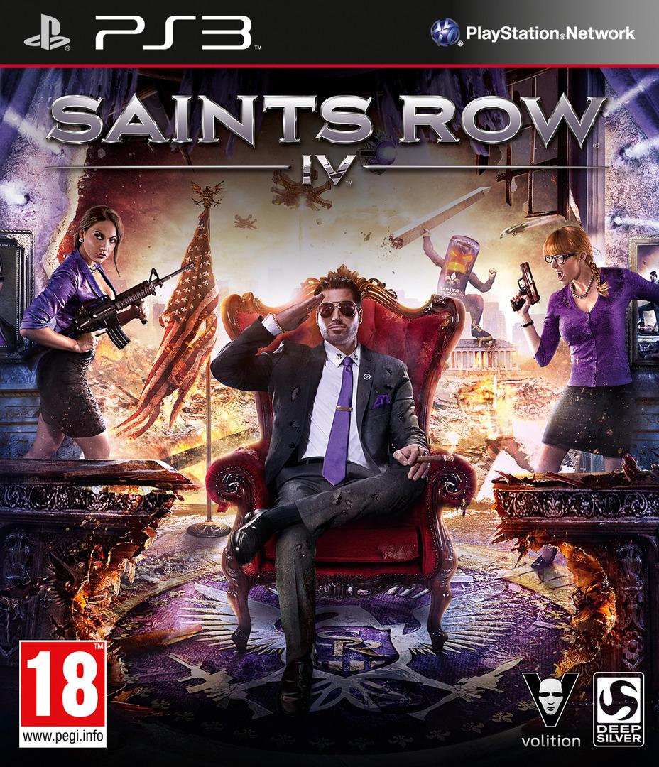 Saints Row IV PS3 coverHQ (BLES01889)