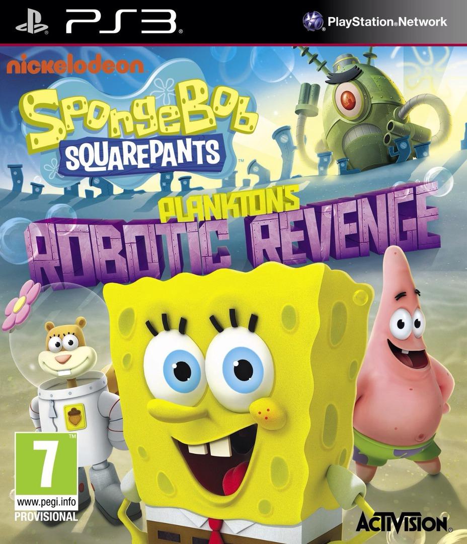 SpongeBob SquarePants: Plankton's Robotic Revenge PS3 coverHQ (BLES01911)