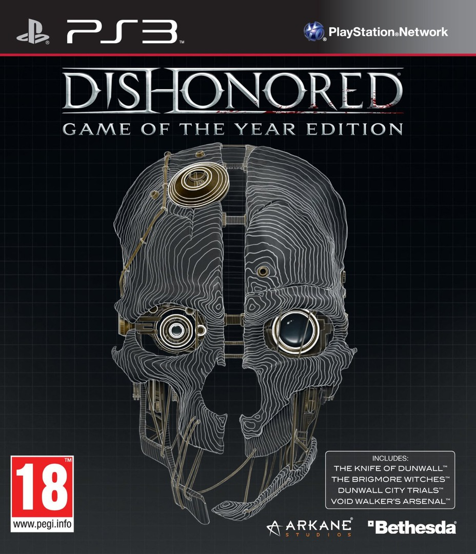 Dishonored: Game of the Year Edition PS3 coverHQ (BLES01925)