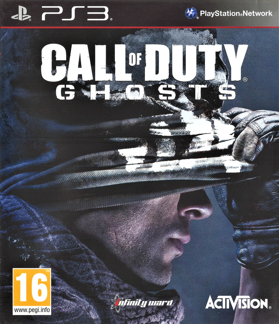 Call of Duty: Ghosts PS3 coverHQ (BLES01945)