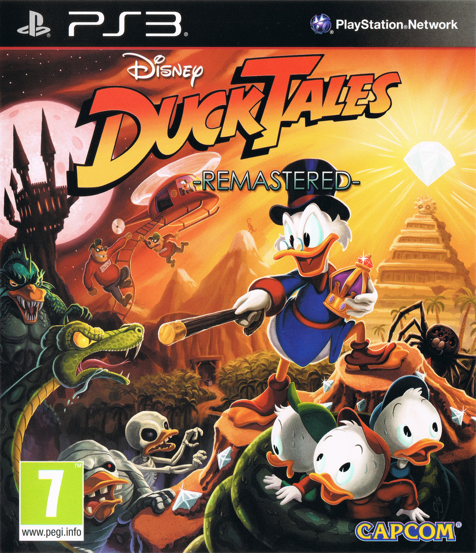 DuckTales: Remastered PS3 coverHQ (BLES01969)
