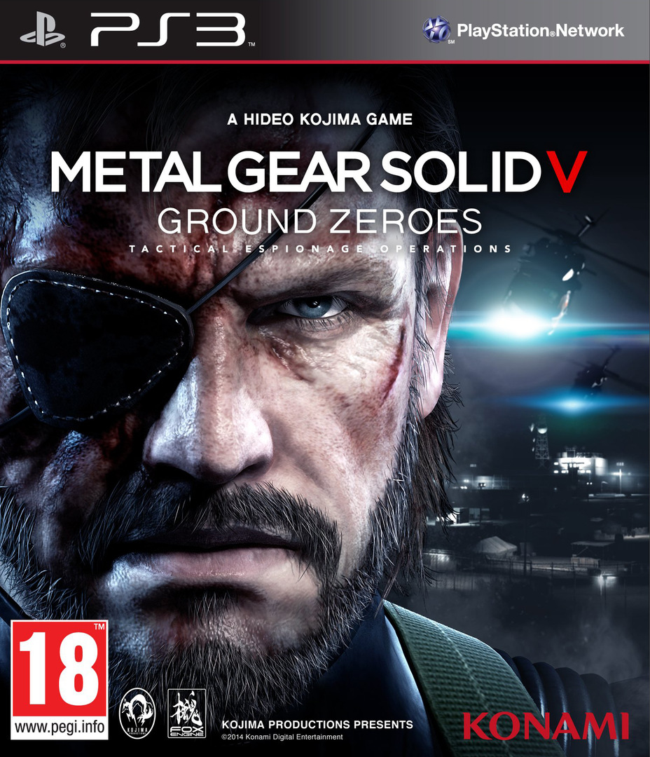 Metal Gear Solid V: Ground Zeroes PS3 coverHQ (BLES01971)