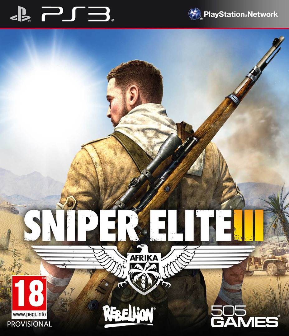 Sniper Elite III PS3 coverHQ (BLES01981)