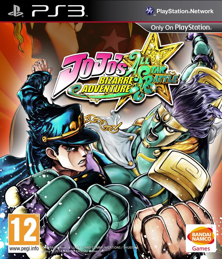 JoJo's Bizarre Adventure: All-Star Battle PS3 coverHQ (BLES01986)