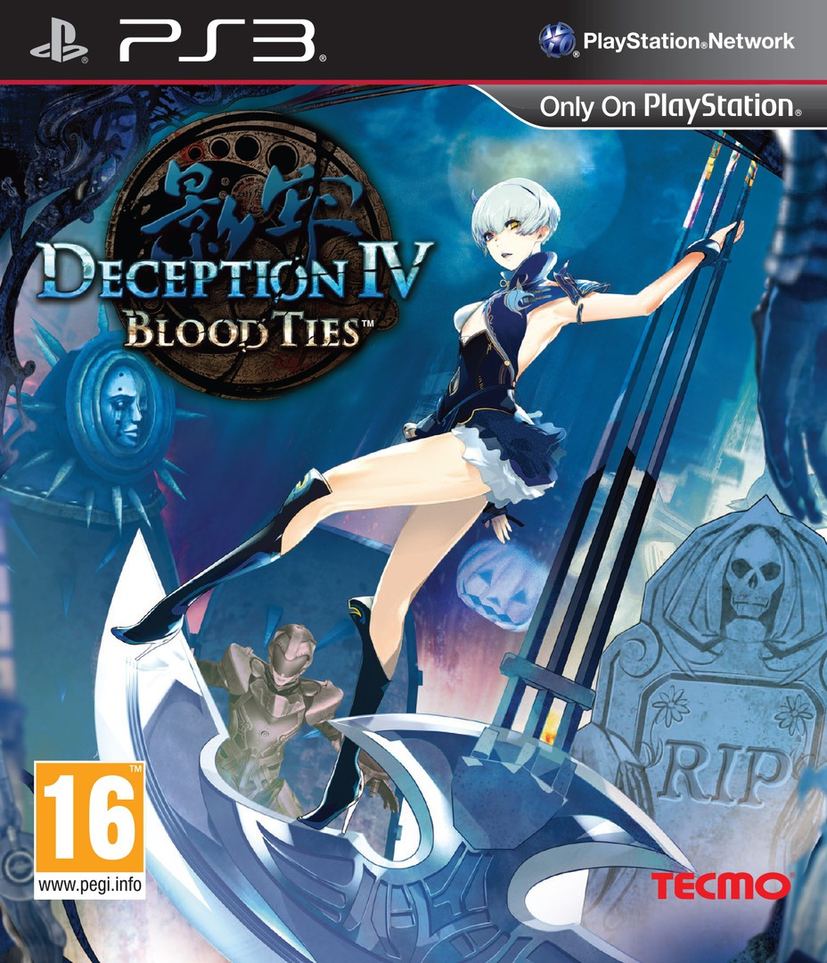 Deception IV: Blood Ties Array coverHQ (BLES01997)