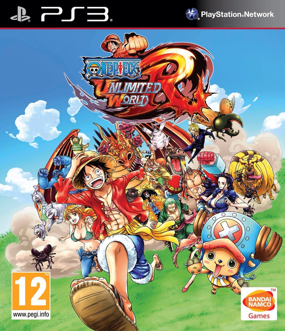 One Piece: Unlimited World Red PS3 coverHQ (BLES02020)