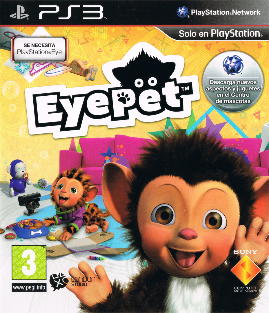 EyePet Array coverHQ (BCES00483)